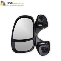 BRAND NEW GENUINE RENAULT TRAFIC II LEFT FRONT NSF ELECTRIC DOOR WING MIRROR (UNPAINTED) 8200200142